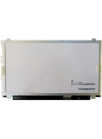 """Матрица для ноутбука 15.6"""" (1366*768, 40pin, Slim, LED-подсветка) крепления расположены сверху и снизу"""